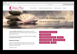 centro de estética Leticia Pérez